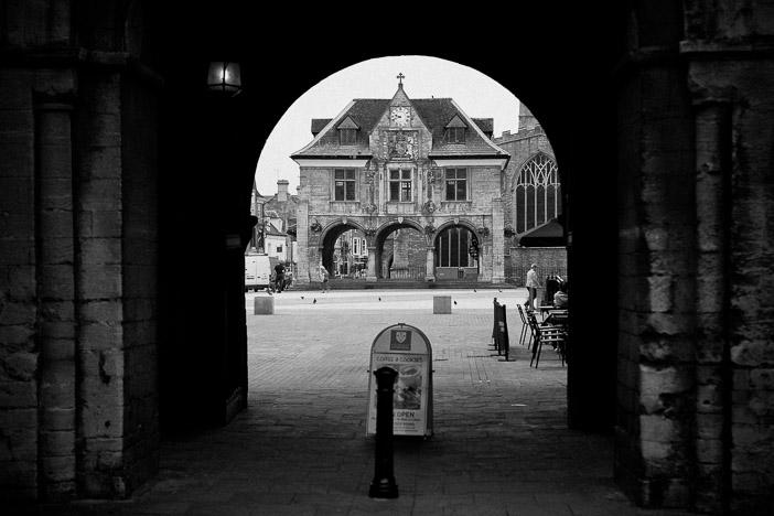 Peterborough miasto w Anglii rynek