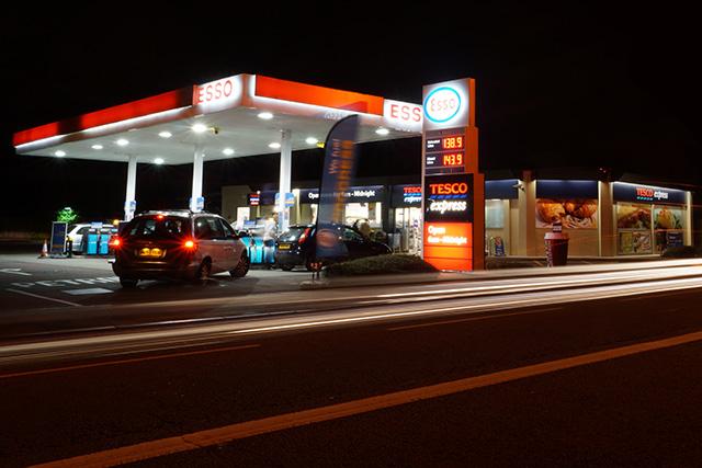 ceny paliwa w UK