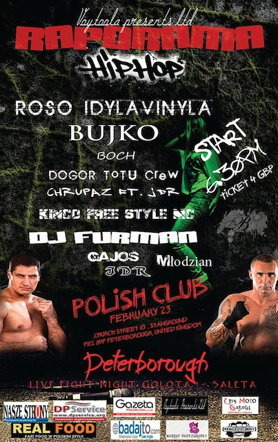 koncert w Klubie Polskim w Peterborough