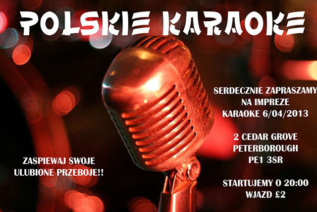 karaoke w Peterborough