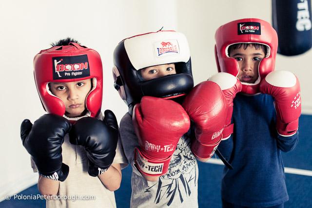 boks dla dzieci w peterborough