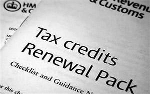 tax credit w Anglii