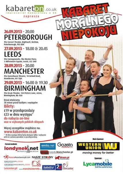 Kabaretu Moralnego Niepokoju w Peterborough