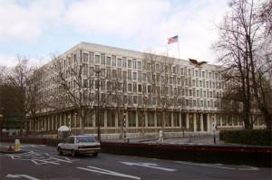 budynek amerykanskiej ambasady w londynie