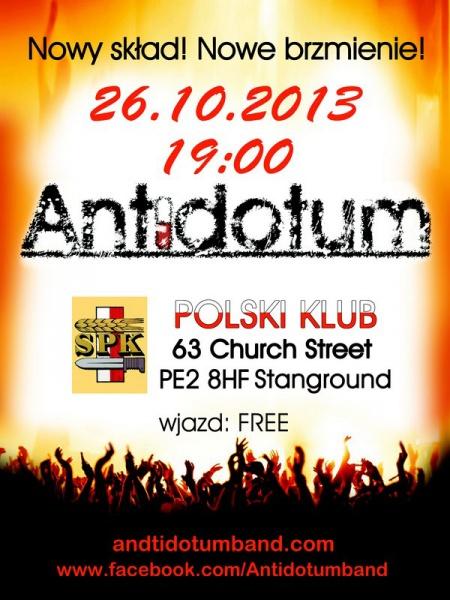 impreza w Polskim Klubie