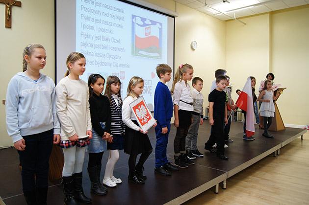 Święto Niepodległości w Polskiej Szkole im. M. Kopernika w Peterborough