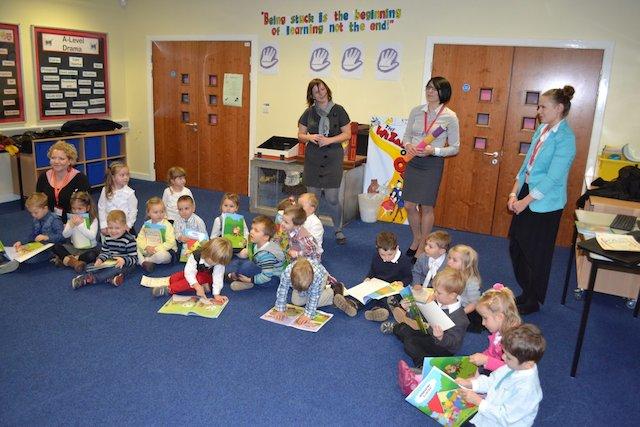 Pasowanie na Przedszkolaka w Polskiej Szkole Sobotniej Peterborough