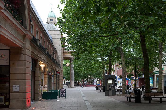 Centrum miasta Peterborough