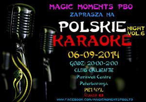 polskie karaoke peterborough  2014
