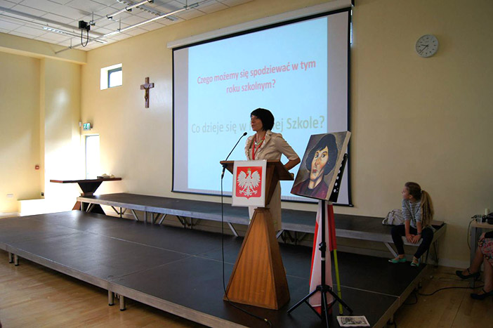 Dyrektor Polskiej Szkoły Aneta Weigelt