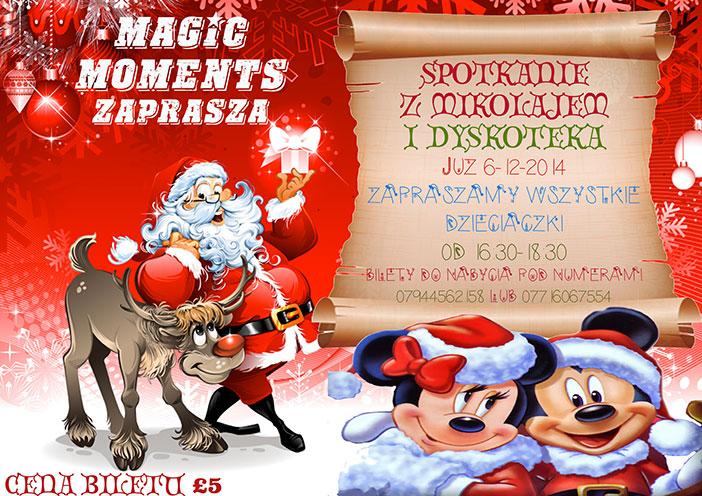 Mikołaj dla dzieci Peterborough 2014