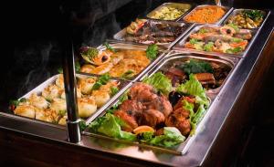 przykladowy obiad w Thomas BBQ