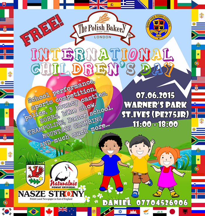 Międzynarodowy Dzień Dziecka 2015 w St.Ives
