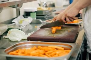 polskie jedzenie przygotowywane przez kucharzy w Anglii