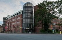 Urzad pracy Peterborough Job Centre przy ulicy Broadway
