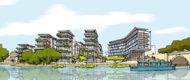 Fletton Quays plan budowy nowego osiedla w Peterborough