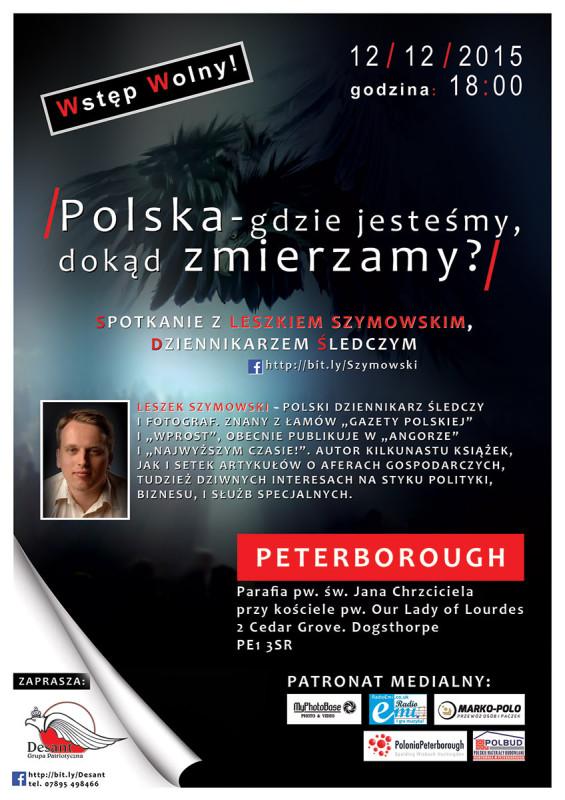 spotkanie z Leszkiem Szymowskim