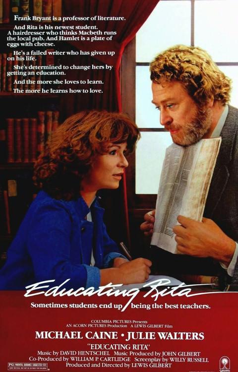 Plakat filmu Edukacja Rity
