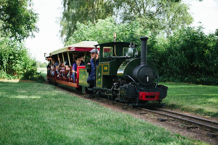 mini pociąg w Nene Park