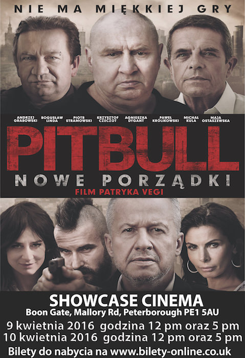 Film Pitbull w Kinie Peterborough