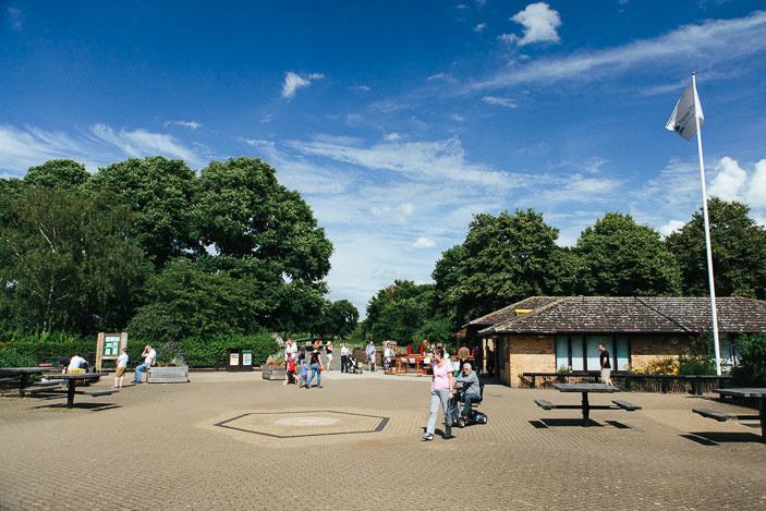 park rozrywki w Peterborough Ferry Meadows