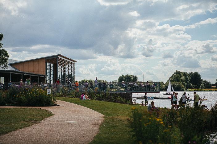 Centrum sportow wodnych w Peterborough