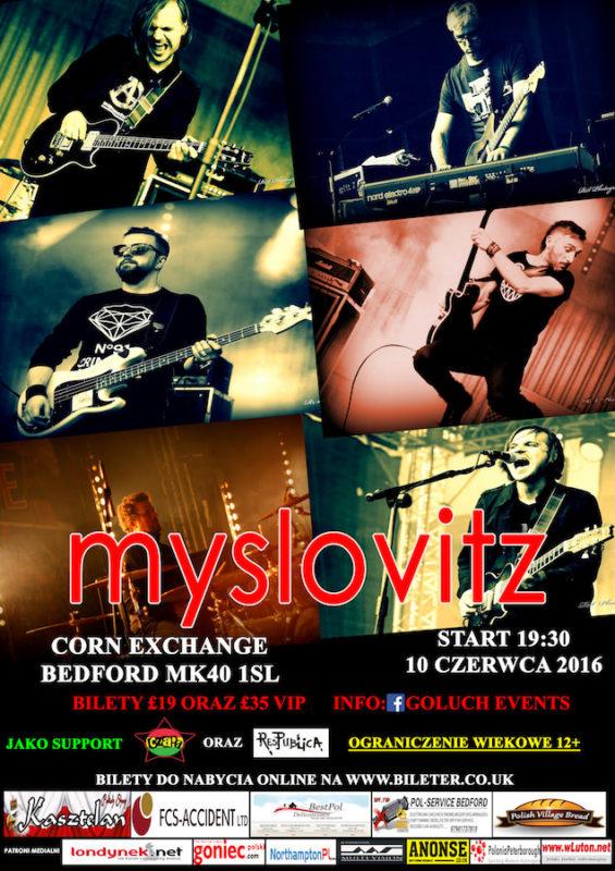 koncert Myslovitz w Bedford