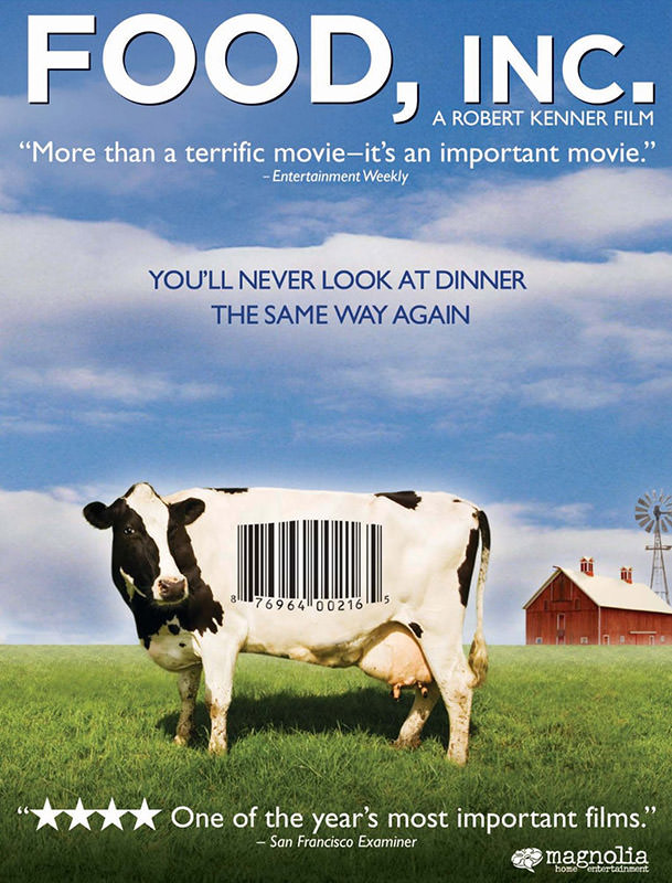 plakat filmu food inc