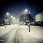 snow in Peterborough