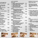 karta dań restauracji Harnaś
