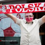Euro 2012 w restauracji Harnaś w Peterborough