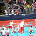 Polscy siatkarze w Londynie