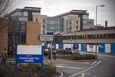 szpital w Peterborough