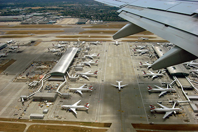 lotniska w anglii