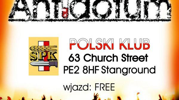impreza w Polskim Klubie Antidotum