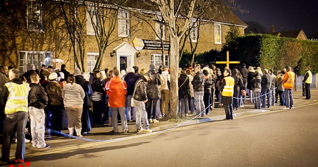 Droga Krzyżowa - demonstracja wiary na ulicach Peterborough
