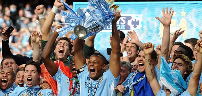 Manchester City mistrzem Anglii 2014