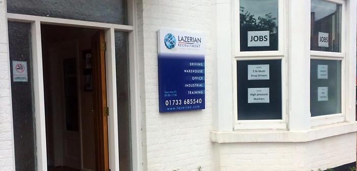 agencja pracy Lazerian Peterborough