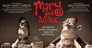 Mary i Max w klubie filmowym Frame Peterborough