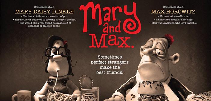 Mary i Max w klubie filmowym Frame Peterborough