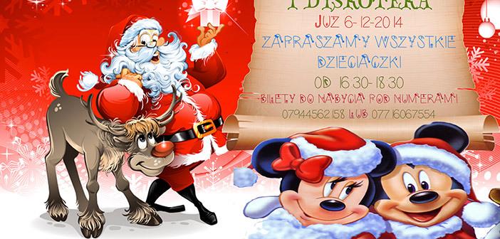 Mikołaj w Peterborough dla dzieci 2014