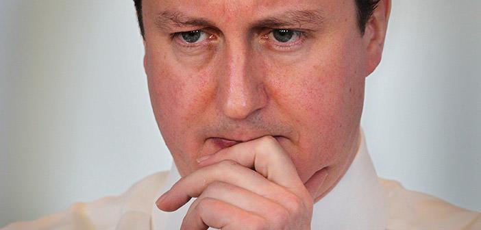 Zwyciezca wyborów w Wielkiej Brytanii David Cameron