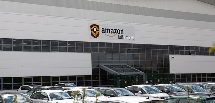 Amazon budynek magazynu w Peterborough