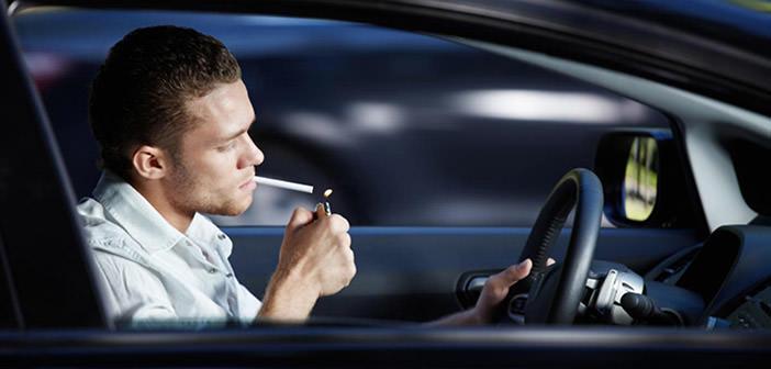 palenie w aucie zakazane w anglii