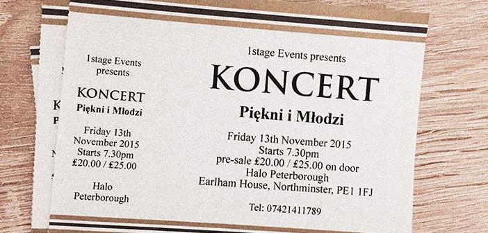 Bilety na koncert Piękni i Młodzi Halo Peterborough