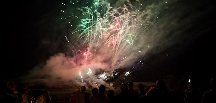 Pokazy fajerwerków w Peterborough