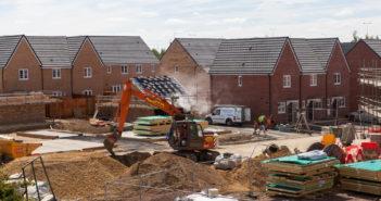 budowa nowego osiedla w anglii, peterborough