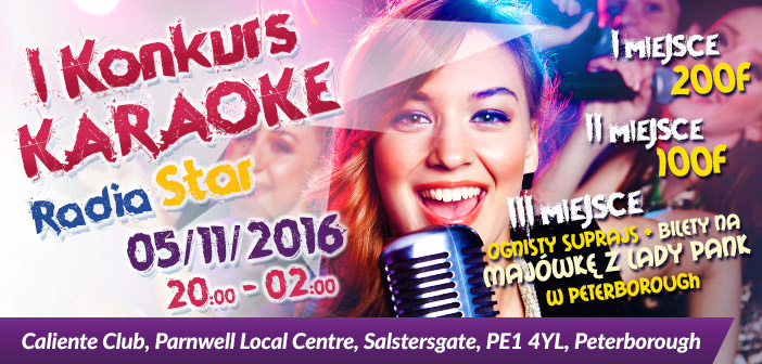 Karaoke z nagrodami – 5 listopada klub Caliente
