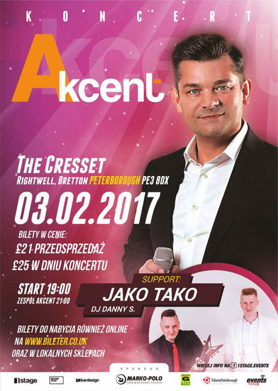 Akcent w Peterborough oficjalny plakat