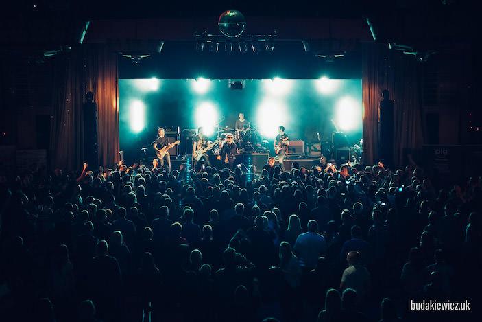 sala The Gliderdrome Boston podczas koncertu Lady Pank w roku 2016